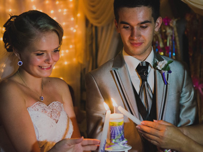 Свадебные очаг своими руками